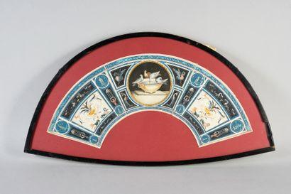 Les colombes de Pline, Italie, vers 1770-1780...