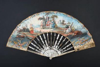Une couronne pour vous, vers 1780 Éventail...