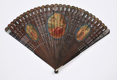 Le vent de l'éventail, vers 1790 Éventail...