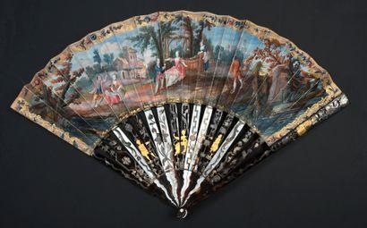 Les vendanges de l'amour, vers 1760-1770...