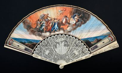 Le char de l'Aurore, vers 1790-1800 Éventail...
