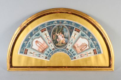 Pompéi et le forum romain, Italie, vers 1770-1780...