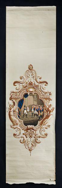 Napoléon présentant le roi de Rome aux maréchaux...