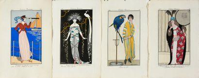 Journal des dames et des modes, Costumes...