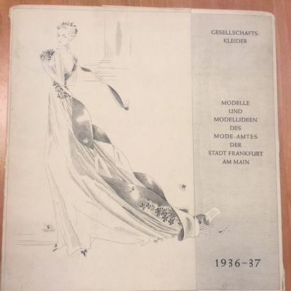 Album de tendances pour la mode, Robes 1936...