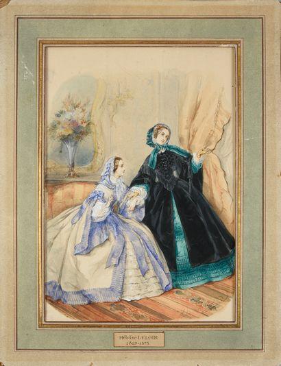 Héloïse LELOIR, (1820-1873)