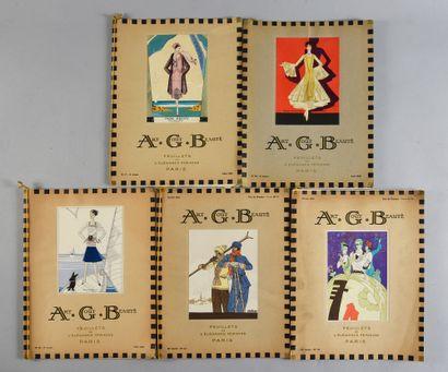 AGB, Art, Gout, Beauté, ensemble de cinq...