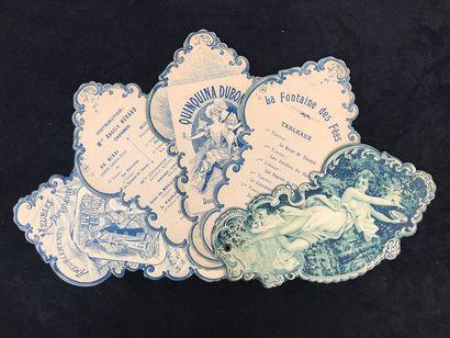 VIE PARISIENNE - THEATRE MARIGNY vers 1890-1900...