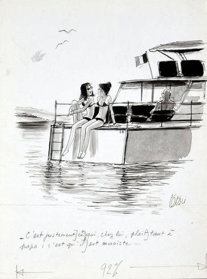 TETSU (Roger Testu, dit, 1913 - 2008)