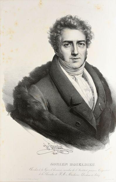 BOIELDIEU François-Adrien. La Dame Blanche, opéra-comique en trois actes, paroles...