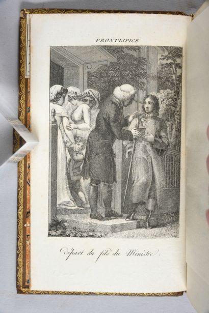 GOLDSMITH Olivier. Le ministre de Wakefield, imprimé à Paris, chez F. Louis, 1803,...