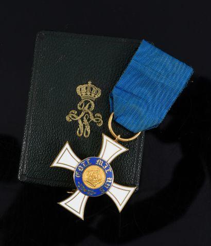 ORDRE DE LA COURONNE (Prusse). Croix chevalier,...