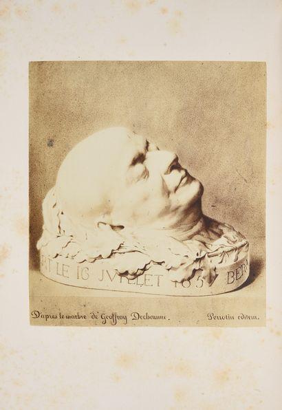 BÉRANGER Pierre-Jean de. * Ma biographie, avec un appendice et des notes, imprimé...