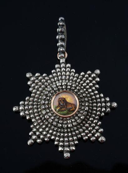 ORDRE DU LION ET DU SOLEIL (Iran). Bijoux...