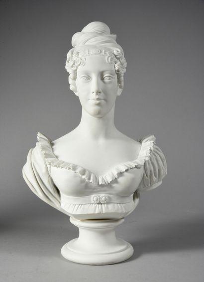 MARIE-CAROLINE, duchesse de Berry, née princesse de Bourbon-Siciles (1798-1870)....