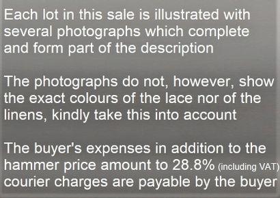 Chaque lot de cette vente est illustré avec...