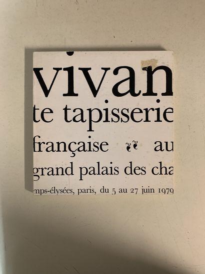 Trois ouvrages en français sur la tapisserie....