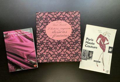 Trois livres en français sur la mode et la...