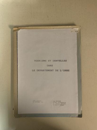Sept ouvrages sur la Normandie ou les dentelles...