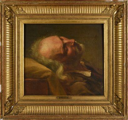 Attribué à Nicolas-Bernard LEPICIE (1735-1784)