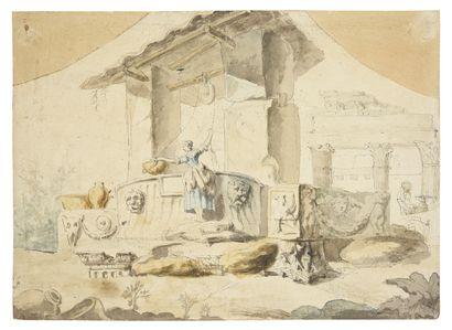 Ecole romaine, vers 1760