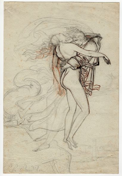 Entourage d'Anne-Louis Girodet-Trioson (1767-1824)