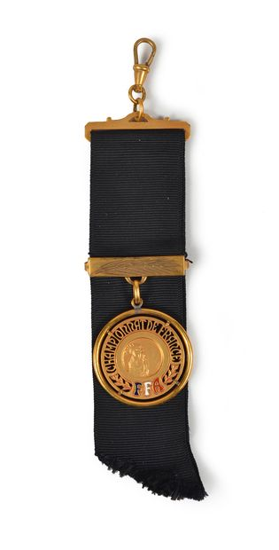Médaille de Champion de France 1954 d'Alain...