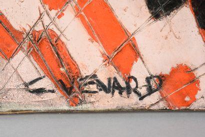 Claude VENARD (1913 -1999) Nature morte aux huîtres. Huile sur toile. 46 x 55 cm...