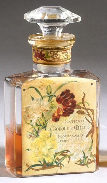 Roger & Gallet - «Bouquet d'œillets» - (années 1900)
