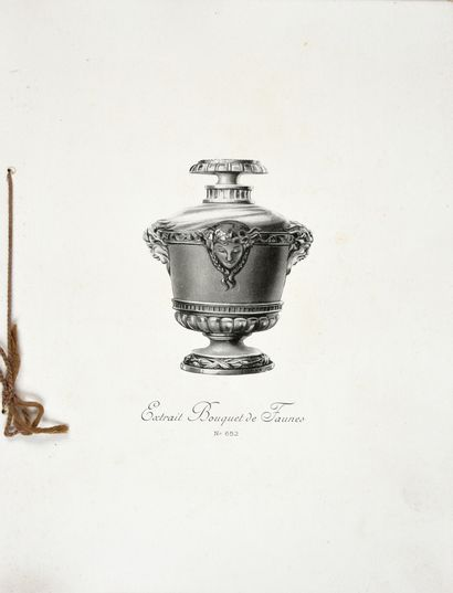 Guerlain - (1924) Commercial catalogue listing the extracts and cosmetics of the...
