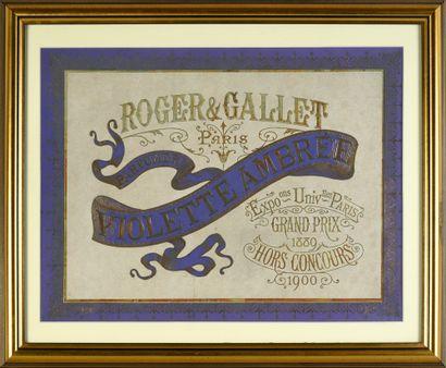 Roger & Gallet - «Violette Ambrée» - (1905)