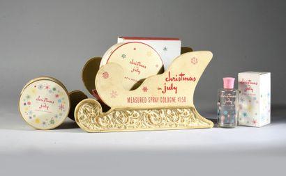 Bourjois - «Christmas in July» - (années 1955-1960 - Etats Unis)