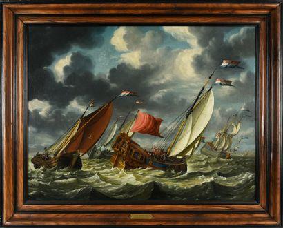 Attribué à Gerrit POMPE (c.1640/1650-c.1695/1705)