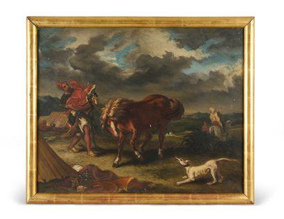 Suiveur d'Eugène DELACROIX (1798-1863)