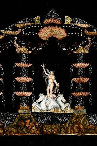 Feux Pyriques Anonyme, Paris - 1760/1830...