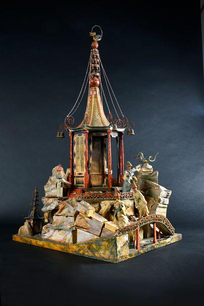Maquette du Pavillon chinois de l'hôtel de...