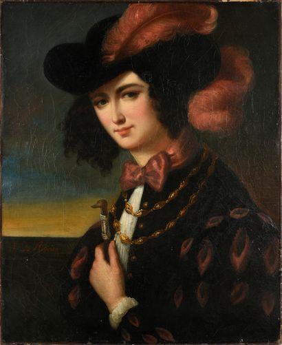 Juliette de Ribeiro, née Juliette Bourgeois de Garancière (1810 - 18..)