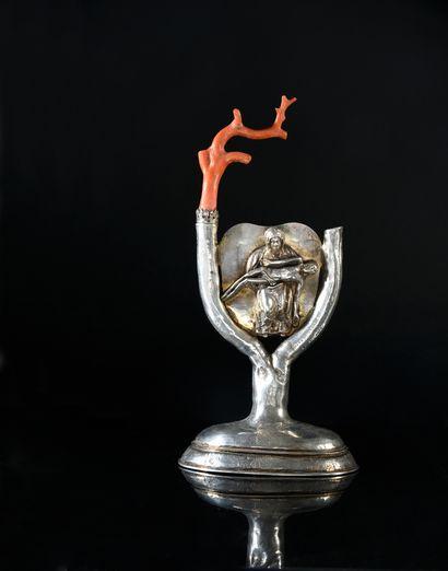Clermont Ferrand, deuxième et troisième quart du XVIIe siècle, Maître orfèvre : attribué à Etienne MARELAND, reçu en 1632