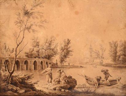Ecole FRANCAISE du XIXe siècle, suiveur de Joseph VERNET