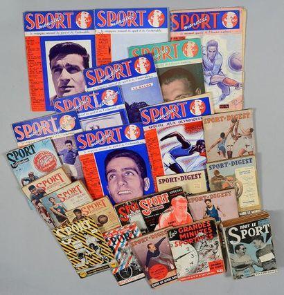 Ensemble de 15 numéros de Sport Séléction....