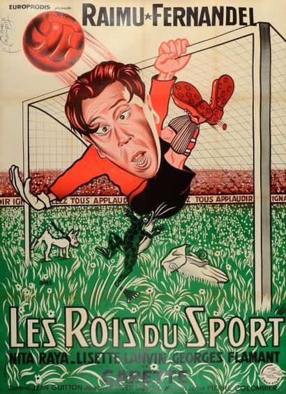 Affiche du film «Les Rois du Sport» en 1937...