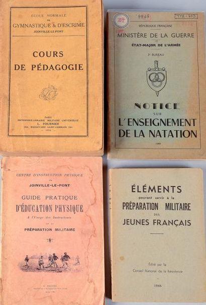 Lot de 15 livres et fascicules sur l'éducation...