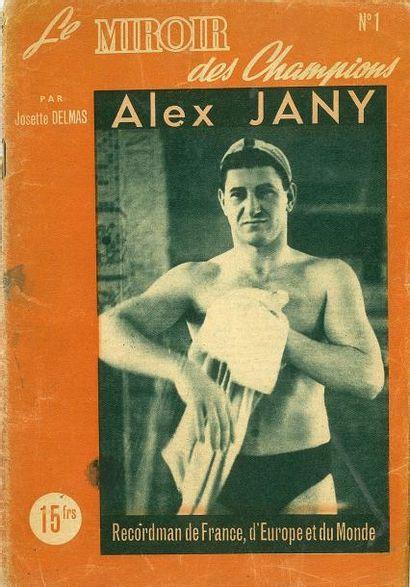 Lot de 4 almanachs dont Miroir Sprint 1947-1948-1950...