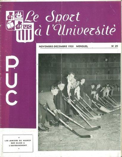 Lot de 11 revues du Paris Université Club...
