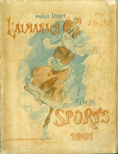 Almanach Leudet de 1901 comportant le compte...