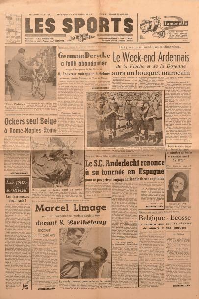 Lot de 240 numéros de la revue Les Sports...