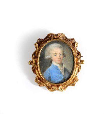 Antoine VESTIER (Avallon, 1740 - Paris, 1824), peintre académicien