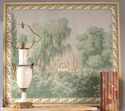 Paysage italien, papier peint panoramique...