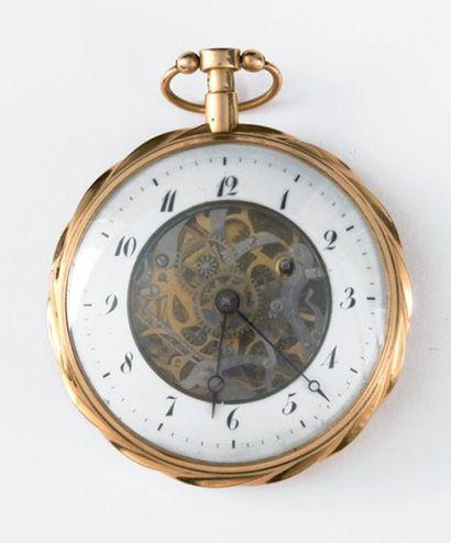 Montre en or vers 1810/1815 à répétition...