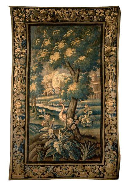 Tapisserie d'Aubuson, verdure. XVIIIe siècle...
